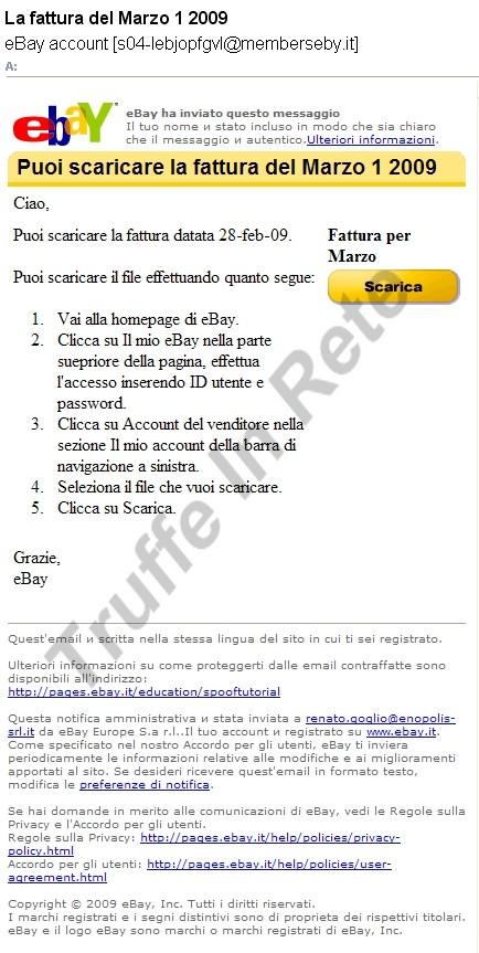 scaricare fatture via card italia